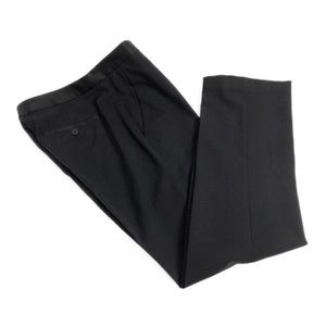 Theory Rosel CB_Solla Tailored Black Wool Pants 4